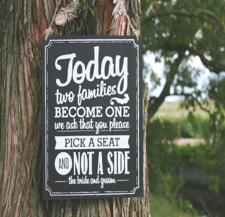 tekstbord pick a seat1