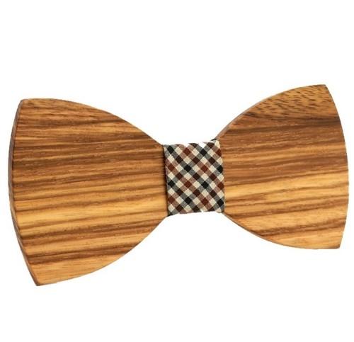 houten-vlinderdasje